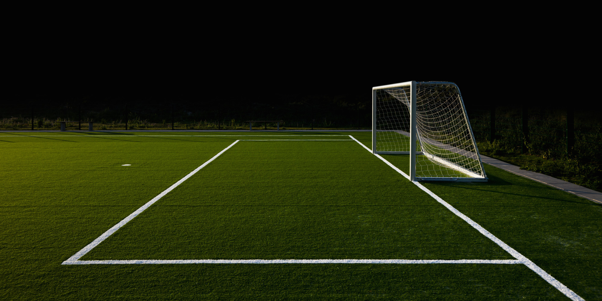 Soccer Field Background With Goal 64652 | DFILES